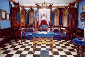 Lodge Room in 97 O'Connell Street.